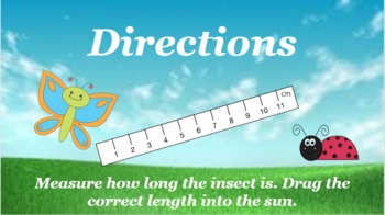 Google Classroom- Measurement (centimeters)