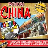 Google Classroom Medieval China Dynasties Unit Plan Activities & Lesson Bundle