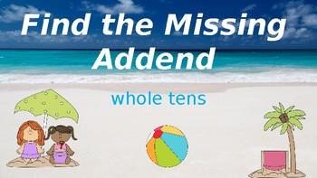 Google Classroom: Missing Addends
