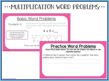 Digital Classroom: Multiplication