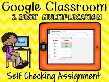 Google Classroom Multiplication