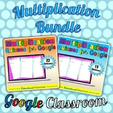 Google Classroom Multiplication Facts Tests 0-12: Times-Tables Bundles Combined