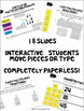 Multiplication Google Classroom Interactive Notebook Activities