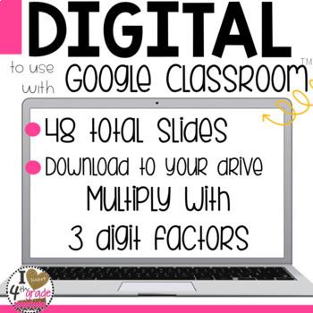 Google Classroom Multiplication Using Area Models