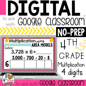 Google Classroom Multiplication Using Area Models