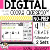 Google Classroom Multiplication Using Area Models Distance