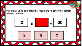3.OA.A4 Google Classroom Multiplication and Division Unknown Numbers