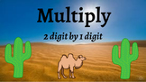 Google Classroom: Multiply 2 Digit by 1 Digit