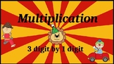 Google Classroom: Multiply 3 Digit by 1 Digit