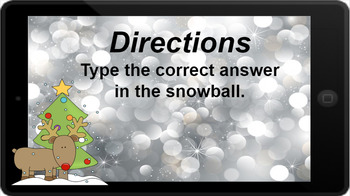 Google Classroom: Multiply by 10s - Winter Theme