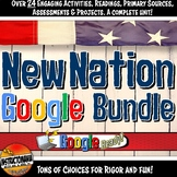 Google Classroom New Nation, Early America Complete Unit L