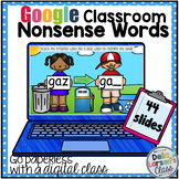 Google Classroom Nonsense Word Recycle