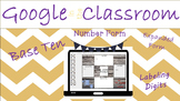 Google Classroom Number Form