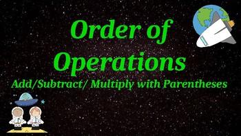 Google Classroom: Order of Operations