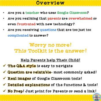 Google Classroom Guide: A Parent's Toolkit