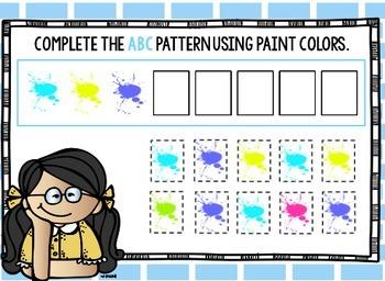 Google Classroom Pattern Pals