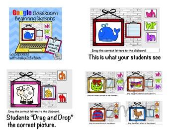Google Classroom Phonics Bundle