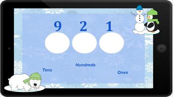 Google Classroom: Place Value 3 Digit (Winter)