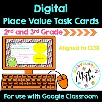 Google Classroom Place Value Task Cards
