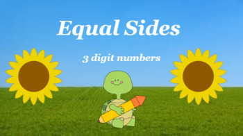 Google Classroom- Place Value- Equal Sides