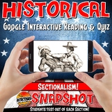 Google Classroom Pre-Civil War Sectionalism Snapshot Inter