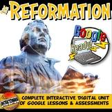 Google Classroom Protestant Reformation Unit Lesson Plan: