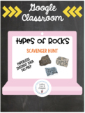 Distance Learning on Google Classroom- Types of Rocks