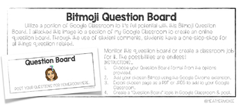 Google Classroom Question Boards