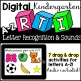 Digital RTI / Letter of the Week ( Google Classroom, Kindergarten)