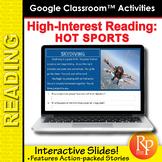 Google Slides - High Interest / Low Vocabulary Reading abo