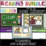 Google Classroom Digital Reading Bundle -BONUS Boom Cards