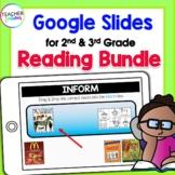 Google Classroom ELA Reading Bundle for 2nd & 3rd Grade