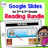 for GOOGLE CLASSROOM READING for Google Apps + BOOM CARDS (CCSS & New ELAR TEKS)