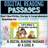 Google Classroom Reading Comprehension