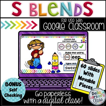 Google Classroom Reading S Blends