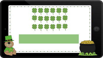 Google Classroom: Repetitive Addition with an Array- St. Patrick's Day