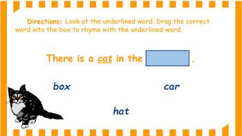 Google Classroom: Rhyming Words