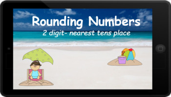 Google Classroom: Rounding 2 Digit Number to the Nearest Tens Place