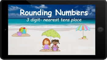 Google Classroom: Rounding 3 Digit Numbers to the Nearest Tens Place