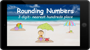 Google Classroom: Rounding 3  Digit numbers to the Nearest Hundreds Place