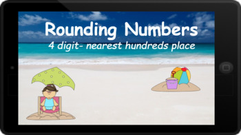 Google Classroom: Rounding 4 Digit Numbers to the Nearest Hundreds Place