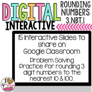 Google Classroom Rounding Problem Solving Tasks