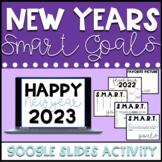 Google Classroom SMART Goals New Years Activity