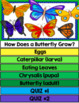 Google Classroom Science: Butterfly Life Cycle Flip Book &