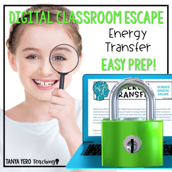Google Classroom Science Digital Escape Room Energy Transformation Transfer