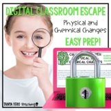 Google Classroom Science Digital Escape Room Physical and