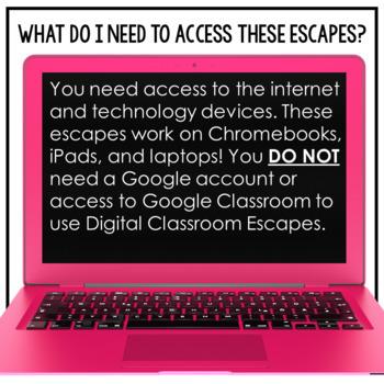 Google Classroom Science Digital Escape Room Solar Eclipse Lunar Eclipse