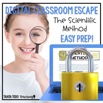 Google Classroom Science Digital Escape Room The Scientific Method Escape Room