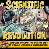 Google Classroom Scientific Revolution Activities & Plans: