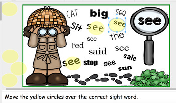 Google Classroom Search for Sight Words BUNDLE